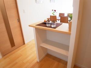 五反田サマリヤマンション キッチンカウンター
