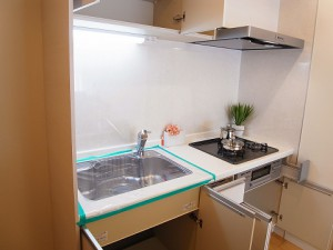 五反田サマリヤマンション キッチン収納