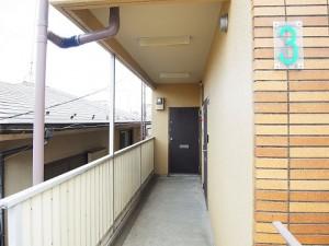 スカイコート駒沢  外廊下