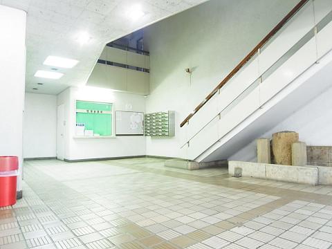 目白武蔵野マンション エントランス