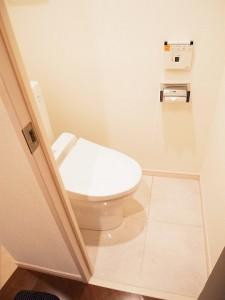 戸山マンション トイレ