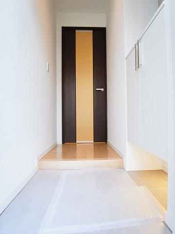 戸山マンション 玄関