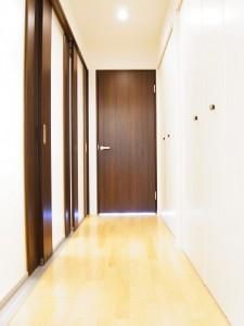 戸山マンション 廊下