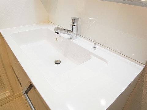 戸山マンション 洗面台