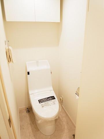 マートルコート新宿ガーデンハウス トイレ