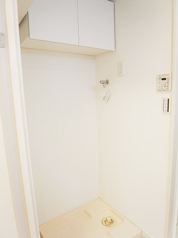 マートルコート新宿ガーデンハウス 洗濯機置場