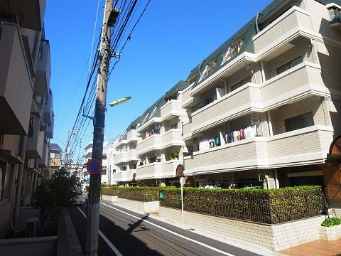 四谷軒第1経堂シティコーポ 眺望