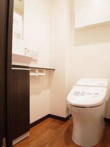 自由が丘アビタシオン トイレ