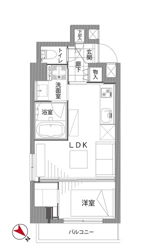 募集中 703号室(1LDK/32.07㎡)5,180万円