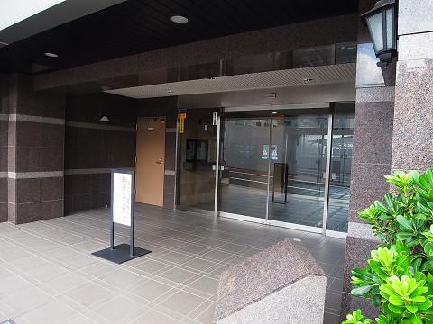 新宿御苑サニーコート エントランス