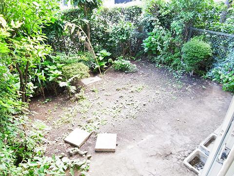 藤和参宮橋コープ 専用庭