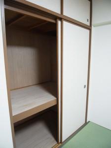 藤和参宮橋コープ 和室収納