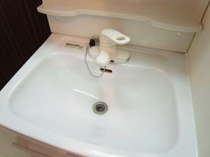 都立大コーポラス 洗面台