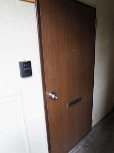 キャニオンマンション駒沢 玄関