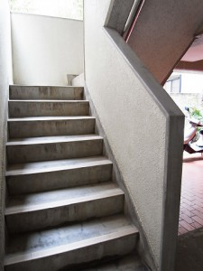 キャニオンマンション駒沢 階段