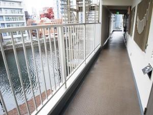 メイツ品川 外廊下