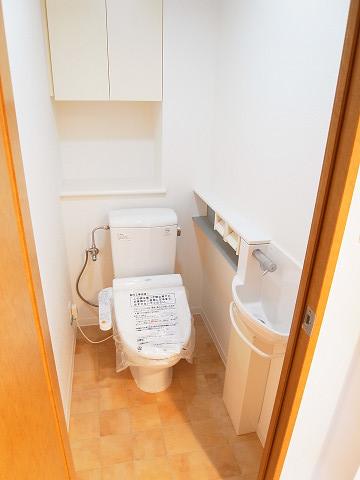 ファミール経堂アンシェール トイレ