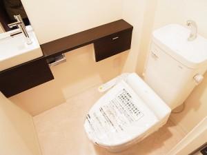 ニックハイム中目黒 トイレ