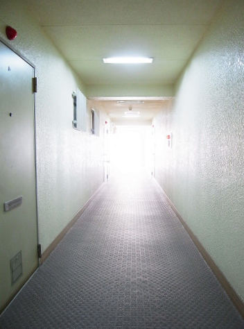 クレール武蔵小山 内廊下