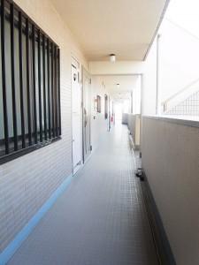 バームハイツ武蔵小山 外廊下