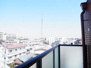 レジオン経堂  洋室1眺望