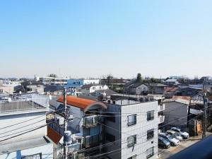 レジオン経堂  洋室2眺望