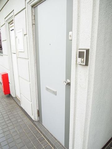 キクエイパレス上野毛 玄関