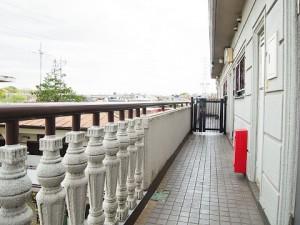 キクエイパレス上野毛 外廊下