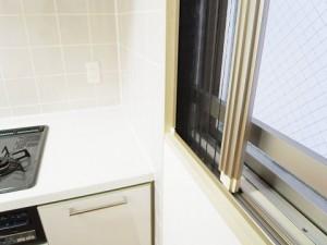 ファミール東京CITYグラン・スイート  キッチン窓