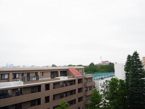 馬事公苑前住宅 眺望