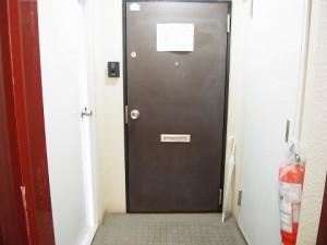 ライオンズマンション戸越銀座  玄関