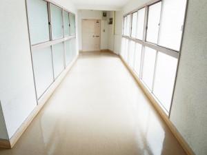 南平台アジアマンション  廊下