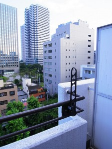 中銀新川マンシオン  洋室1バルコニー