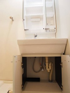 デューク高輪 洗面台収納