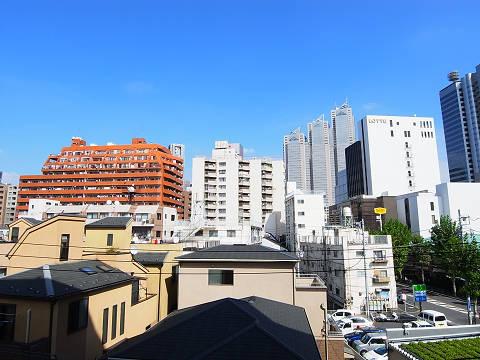 渋谷本町マンション  DK眺望