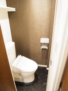 牛込中央マンション トイレ