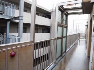 プレール文京WEST 外廊下