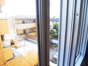 ライオンズマンション柿の木坂 洋室眺望
