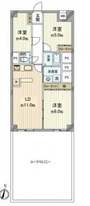 新宿スカイプラザ 間取図