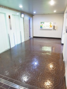 新宿スカイプラザ エレベーターホール