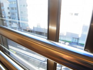 サンハイツ高輪 LDK窓
