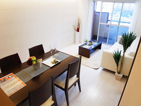シャンボール柿の木坂 リビングダイニングキッチン