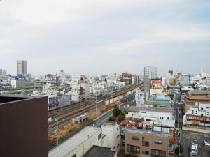 シャルムコート新宿ステーションパレス 廊下眺望
