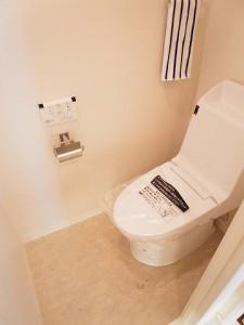 朝日自由ヶ丘マンション トイレ