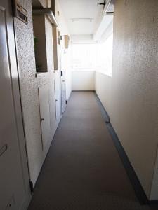 千歳船橋ヒミコマンション 外廊下