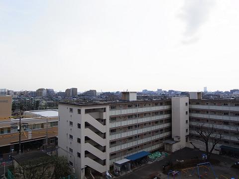 千歳船橋ヒミコマンション バルコニー眺望