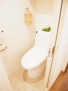 ラインコーポ箱崎 トイレ