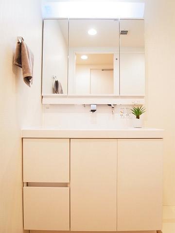 エクセルシオール西新宿 洗面台