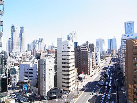 エクセルシオール西新宿 眺望