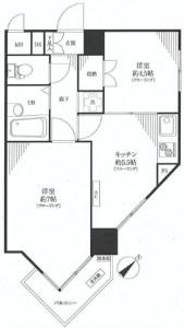 九段フラワーマンション 間取図